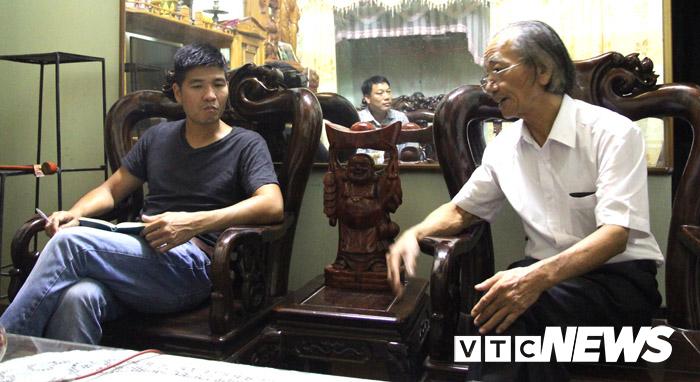 Nhà nghiên cứu Hoàng Hùng tin rằng, ngôi mộ trong vườn nhà Chủ tịch UBND xã Xuân Hưng là mộ vua Lê Thần Tông.